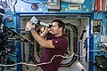 ISS-50 Thomas Pesquet with a Fundoscope in the Destiny lab.jpg