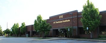 English: ITT Technical Institute Canton, Michi...