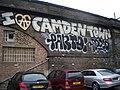 I Love Camden Town graffiti, Leybourne Road NW1 - geograph.org.uk - 2006655.jpg