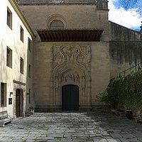 Iglesia de Santa Cruz la Real (Segovia) Portada.jpg
