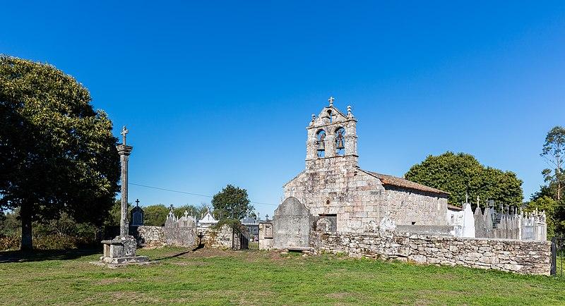 File:Iglesia de Santiago, Lestedo, Camino de Santiago, Lugo, España, 2015-09-20, DD 31.jpg