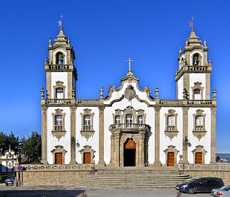 Viseu - The Church of Mercy or Igreja da Misericórdia.