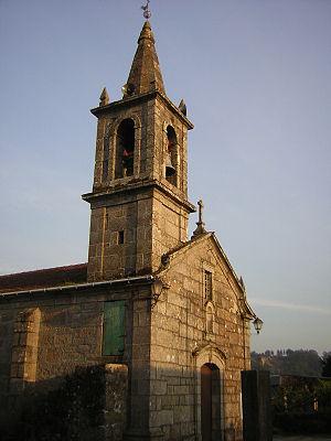 Salceda de Caselas - Parderrubias church, in Salceda de Caselas municipality.