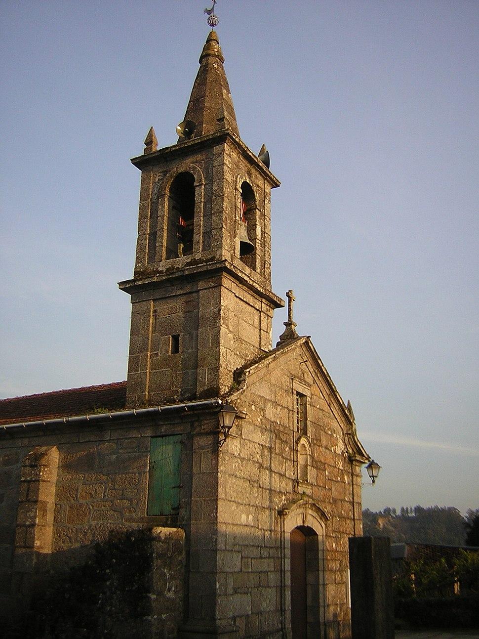 Igrexa de Parderrubias-Salceda de Caselas-Galicia