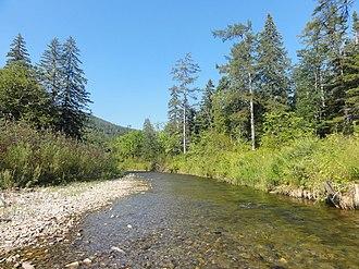 Botcha Nature Reserve - Upper reaches of Ihka River, southern border of Botcha Reserve