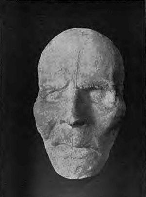 Adam Weishaupt - Death mask of Adam Weishaupt