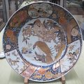 Imari dish with cherry blossom and eagle design, 18th century, Tokyo National Museum.JPG