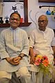 Imdadul Haq Milon with Sankha Ghosh - Kolkata 2015-10-10 4957.JPG