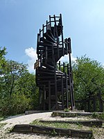 Imre Makovecz observation tower, Kis-Hárs Hill 01.JPG