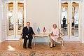 Ināra Mūrniece tiekas ar Grieķijas Republikas ārkārtējo un pilnvaroto vēstnieku Latvijas Republikā (28046576867).jpg
