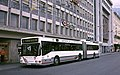 Innsbruck low-floor trolleybus 820 across from Hbf in 1995.jpg