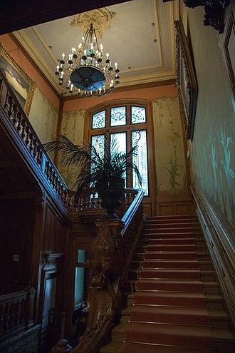 Institut Lumière - Image: Institut Lumière Stairway