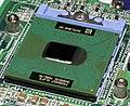 Intel Socket 479 - open with Intel Pentium M 1.4 (RH80535GC0171M)-top oblique PNr°0328.jpg
