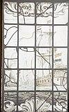 interieur, gebrandschilderd glas, detail - de rijp - 20265890 - rce