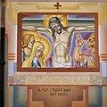 Interieur, kruiswegstatie nummer 12, tegen zijmuur - Cuijk - 20341898 - RCE.jpg
