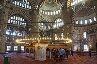 Interior of Selimiye Mosque (15051849687).jpg