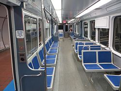 Interior of a Buffalo Metro Rail LRV (2015).jpg