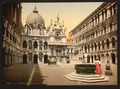 Interior of the Doges' Palace, with the Giant's Staircase, Venice, Italy-LCCN2001700993.tif