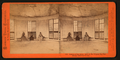 Interior of the House built on the original Big Tree Stump, Calaveras County, by Lawrence & Houseworth 3.png