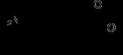 Strukturformel von Iopansäure