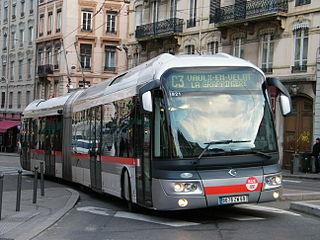Trolleybuses in Lyon