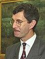 Irish Tánaiste Dick Spring at the White House, 16 Nov 1993.jpg