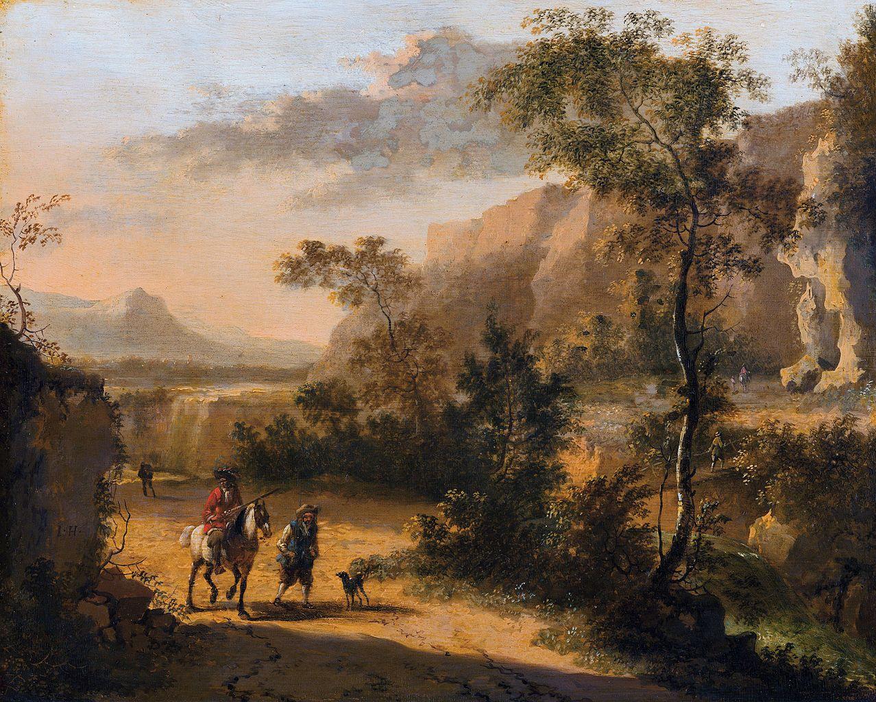 italian landscape with ox - photo #12