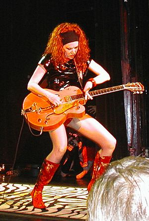 Poison Ivy (musician) - Poison Ivy performing in 2005