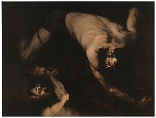 <i>Ixion</i> (Ribera) Painting by Jusepe de Ribera