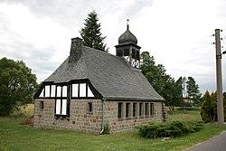 Jämlitz-Klein Düben - Schulstraße - Kirche 01 ies.jpg