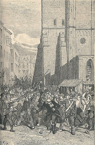 History of the Jews in Denmark - The anti-Jewish riots in Copenhagen in September 1819