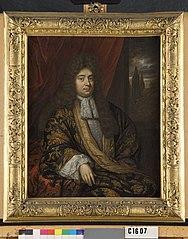 Portret van een man, mogelijk Adriaan Hoffer (1656-1712)