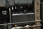 JGSDF Type 12 SSM launcher unit(04-0604, launch mode) fuel tank at Niconico chokaigi April 28, 2018.jpg