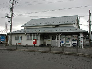 Shimoda Station Railway station in Oirase, Aomori Prefecture, Japan