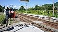 JR Nemuro-Main-Line Kanayama Station Premises railroad crossing.jpg