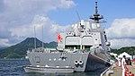 JS Fuyuzuki(DD-118) right rear view at JMSDF Maizuru Naval Base July 27, 2014 02.jpg