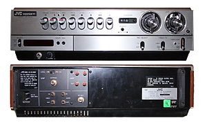 "VHS - JVC HR-3300U VIDSTAR – the United States version of the JVC HR-3300. It is virtually identical to the Japan version. Japan's version showed the ""Victor"" name, and didn't use the ""VIDSTAR"" name."