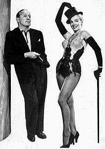 Jack Benny Marilyn Monroe Jack Benny Show 1953.JPG