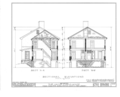 Jacob Evans House, Marlton-Medford Road, Marlton, Burlington County, NJ HABS NJ,3-MART.V,5- (sheet 9 of 24).png