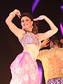 Jacqueline Fernandez in Bollywood Showstoppers 2014.jpg