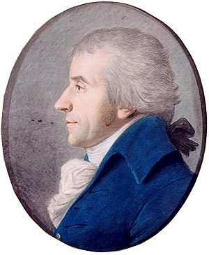 Jacques Pierre Brissot - Brissot portrait by Fouquet (1792)