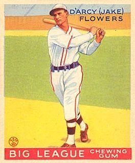 Jake Flowers American baseball player