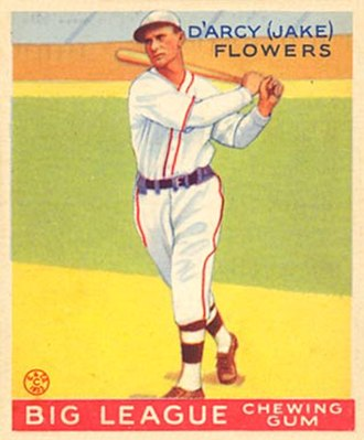 Jake Flowers - Image: Jake Flowers Goudeycard
