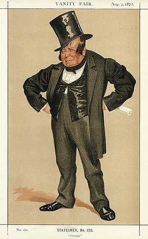 James Delahunty - Vanity Fair caricature of Delahunty by James Tissot