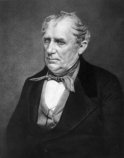 Picture of an author: James Fenimore Cooper