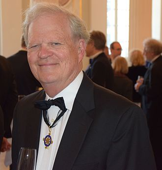 Pour le Mérite - James J. Sheehan wearing his Pour le Merite in 2014