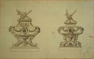 Two designs for a reliquary