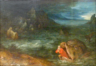 Jonas entsteigt dem Walfisch