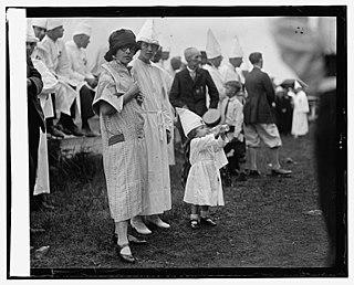 Women of the Ku Klux Klan Branch of the US Ku Klux Klan