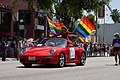 Jane Velez-Mitchell - Red Porsche - Pride Parade 2010.jpg